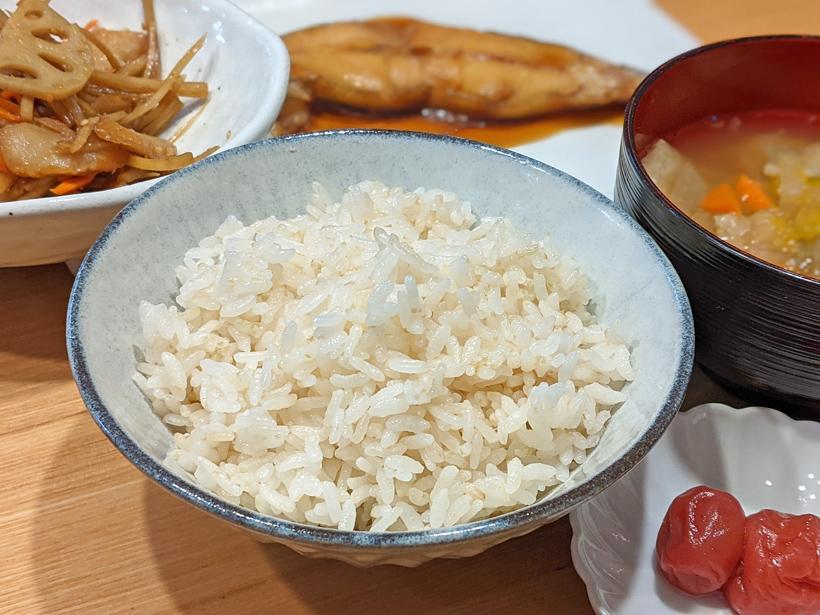 平田自然栽培米ごはん
