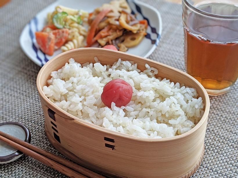 平田自然栽培米お弁当