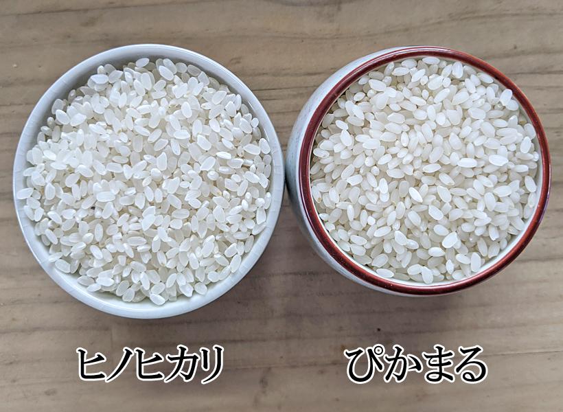 大柿自然栽培米ヒノヒカリとぴかまる