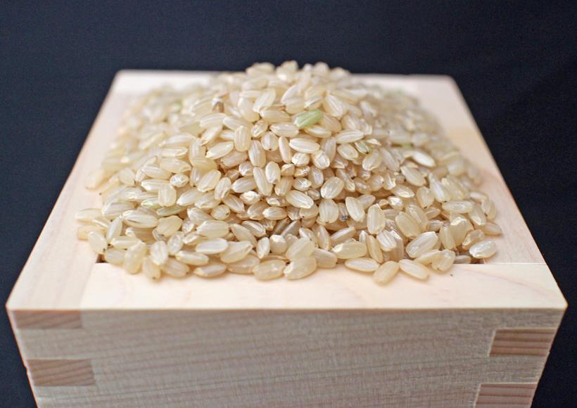 自然栽培米升