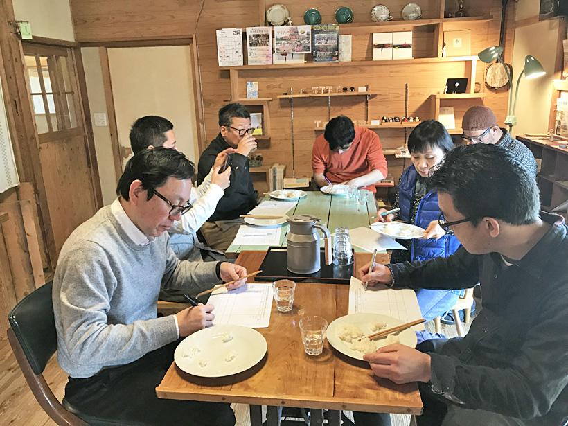 井田の活動食べ比べ