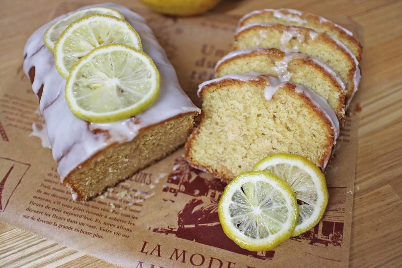 自然栽培小麦粉パウンドケーキ