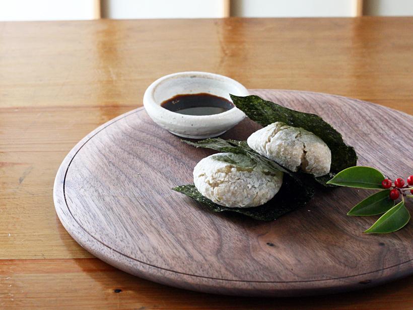 緑玄米もち海苔巻き