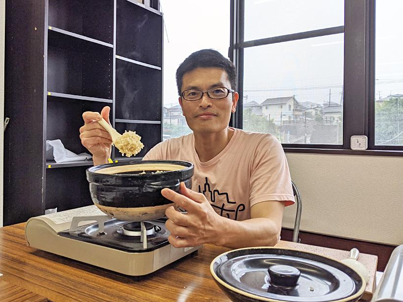 井田と発芽玄米