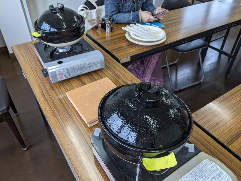 自然栽培米食べ比べ調査