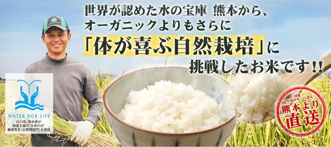 熊本自然栽培米のサイト