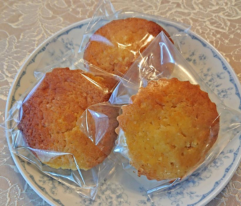 レモンマドレーヌ自然栽培小麦粉